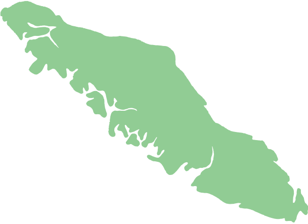 Viridian Energy project locations on Vancouver Island