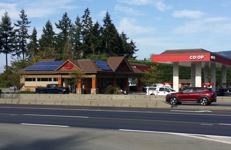 Bench Road Coop Gas Station Solar Array