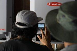 Fronius inverter commissioning