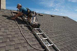 installation on steep asphalt roof