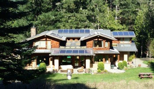 Saltspring Solar house